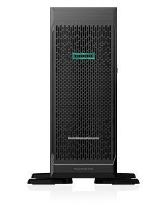 "Servidor HPE ProLiant ML350 Gen10 Base - Torre - 4U - 2 vías - 1 x Xeon Silver 4210 / 2.2 GHz - RAM 16 GB - SAS - hot-swap 2.5"""