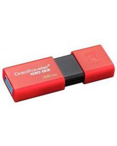 Kingston - USB flash drive - 32 GB - USB 3.0 - RED