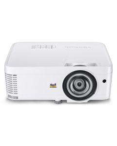 ViewSonic PS600W - Proyector DLP - 3D - 3500 ANSI lumens - WXGA (1280 x 800) - 16:10 - 720p - objetio fijo para distancias cortas
