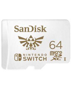 MicroSDXC - 64 GB - SanDisk - Nintendo Flash memory card