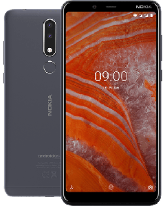 Smartphone Nokia 3.1 Plus Charcoal  (Android OS)