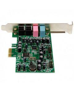 Tarjeta de sonido PCI Express con sonido envolvente de 7.1 canales 24bit 192 kHz