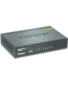 TRENDnet TEG S82g 8-Port Gigabit GREENnet Switch - Conmutador - 8 x 10/100/1000 - sobremesa