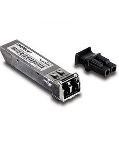 TRENDnet TI-MGBSX - Módulo de transceptor SFP (mini-GBIC) - GigE - 1000Base-SX - LC de modos múltiples - hasta 550 m - 850 nm