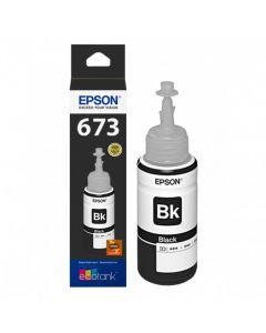 Epson T673 - recarga de tinta negro
