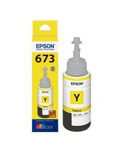 Epson T673 - recarga de tinta amarillo
