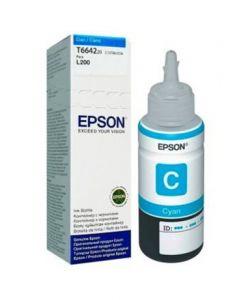 Epson T664 - recarga de tinta cian - original