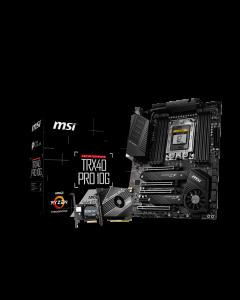 MSI TRX40 PRO 10G - Placa base - ATX - Socket sTRX4 - AMD TRX40 - USB-C Gen2, USB 3.2 Gen 1, US