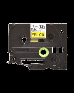 Brother TZeFX631 - Negro sobre amarillo - rollo (1,2 cm x 8 m) 1 bobina(s) cinta de ID flexible