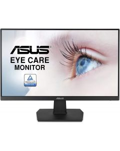 """Monitor Asus 23.8"""" 1080P, Full HD, IPS, 75Hz, HDMI D-Sub DVI-D, Adaptive-Sync / FreeSync, Eye Care, Flicker-free and Low Blue Light"""