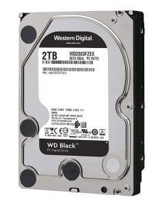 "Disco duro 2 TB - interno WD Black Performance - 3.5"" - SATA 6Gb/s - 7200 rpm - búfer: 64 MB"