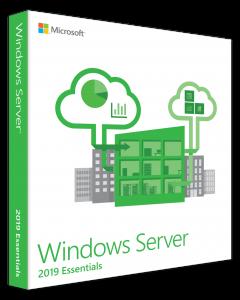 Microsoft Windows Server 2019 Essentials - Licencia - 1 licencia - OEM - ROK - bloqueado por BIOS (Dell)