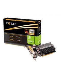 Tarjeta de Video ZOTAC GeForce GT 730 - 4 GB DDR3 - PCIe 2.0 x16 perfil bajo - DVI, D-Sub, HDMI