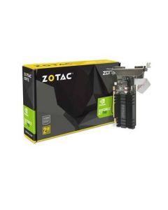 Tarjeta de Video ZOTAC GeForce GT 710 - 2 GB DDR3 - PCIe 2.0 - DVI, D-Sub, HDMI